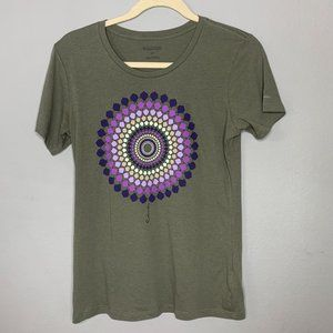 Columbia Short Sleeve Mandala Design T Shirt